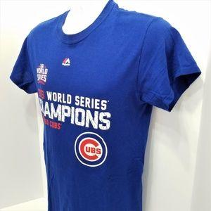 26e82f60c Majestic Shirts - Chicago Cubs 2016 World Series Champions MLB Shirt